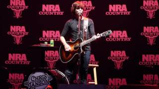 "Chris Janson  ""Fix A Drink"" 4-28-17"