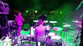Agora In Flames Show Drum View