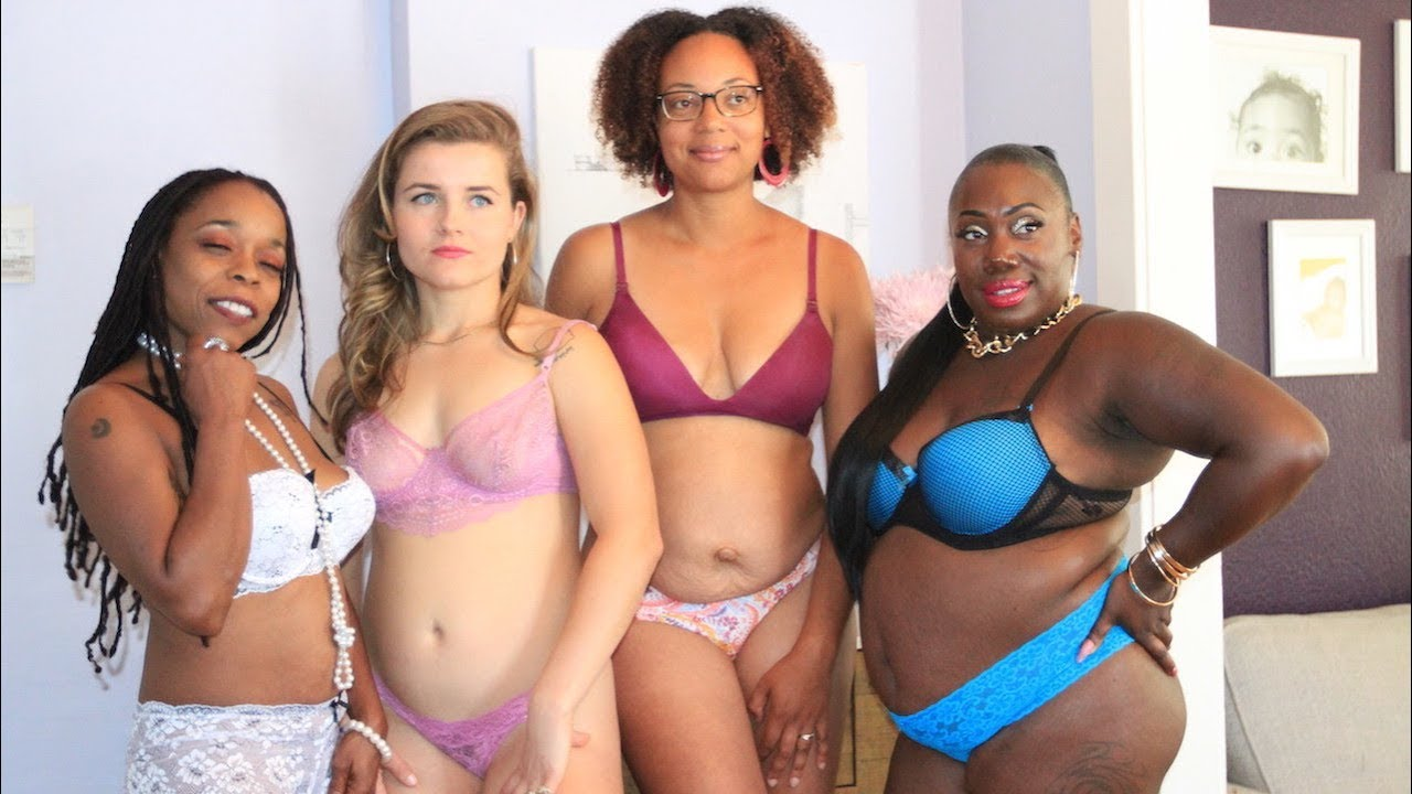 cb0c7c3285 Women Celebrate Post-Baby Bodies In Lingerie Shoots