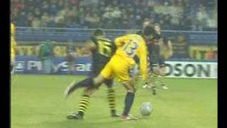 2003/2004 UEFA 1/32r Sochaux-Dortmund: 4-0