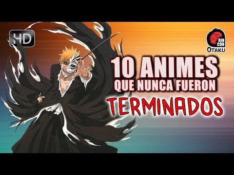 10 animes que NUNCA Fueron TERMINADOS | Rincón Otaku