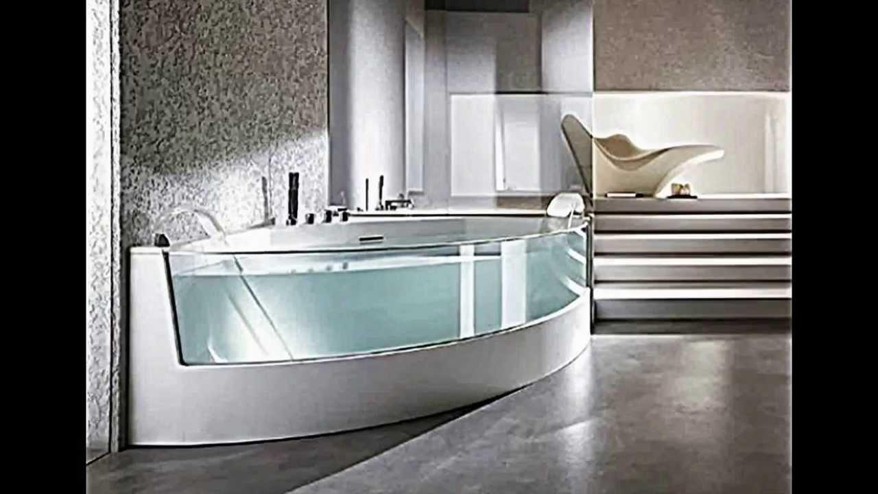 Ergonomische Eck-Badewanne Mit Dusche Und Whirlpool-Funktion Von