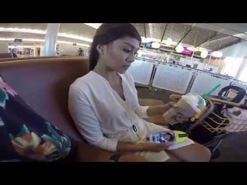 Hawaii Trip Part 1 : First class hotel on airport floor