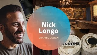 Live Graphic Design with Nick Longo - 1 of 3