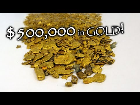 I Found Half A MILLION Dollar GOLD Deposit! Now I Must Mine It!