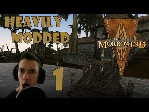 The Elder Scrolls III: Morrowind -  Heavily Modded - The 2k Drake Start |