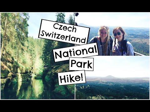 Hiking the Czech Switzerland National Park! | Study Abroad Travel Vlog