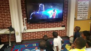 Kids reaction to Avengers Infinity War trailer 2