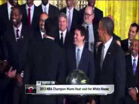 President Obama Jokes On Mario Chalmers