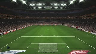 PES 2017 Stadyum Yaması ( PES 2017 Stadium Patch - Türk Telekom Arena, Ülker Stadyumu )