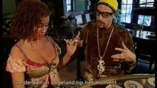 The Bulldog™ Famous Customers: Ali G.and Katja Schuurman