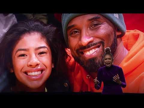 Jennifer Hudson Pays Tribute To Kobe And Gigi Before All Star Game
