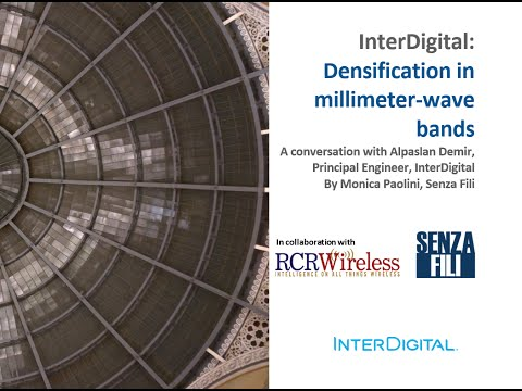 InterDigital - Densification in millimeter-wave bands