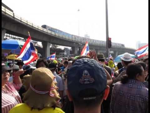 Political Protest in Bangkok, Thailand 2013
