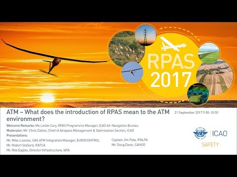 #icaoRPAS ATM – What does the introduction of RPAS mean to the ATM environment?
