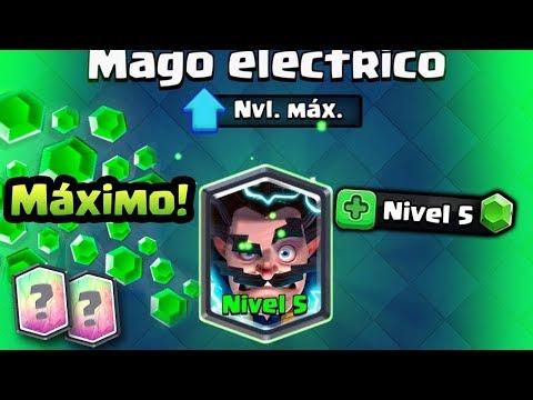 ¡¡PROBANDO MI MAGO ELÉCTRICO NIVEL 5 Y TORNEO DE 2,000 GEMAS!!