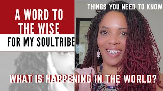 A CONSCIOUS MESSAGE TO MY SOUL TRIBE| Be a Witness to Yout Greatness