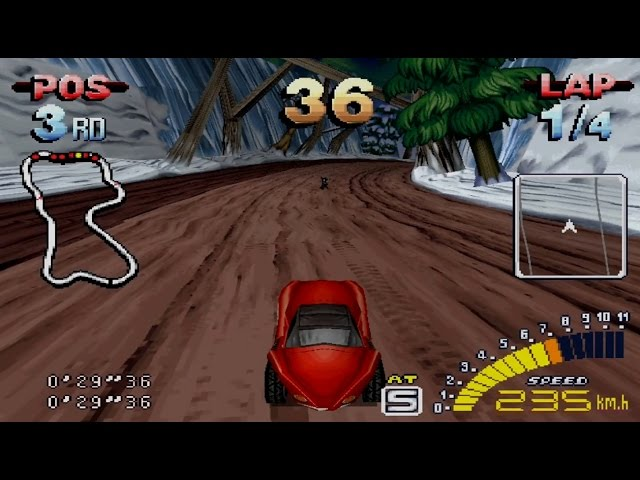 Explosive Racing Gameplay Championship (PSX,PS1)