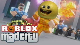 Roblox: MAD CITY! [Grapefruit Plays]