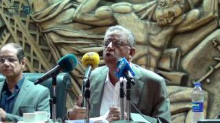 بالفيديو| سيف الدولة: المقاومة في الإعلام المصري شيطان.. وإسرائيل خط أحمر