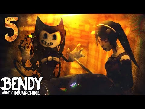 GOOD BENDY IN CHAPTER 5 REVEALED?! TRAILER ANALYSIS | Bendy and the Ink Machine [Chapter 4] Hacks