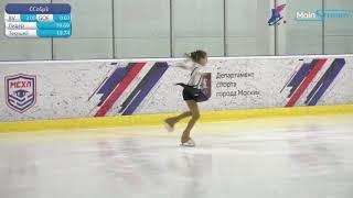 Дарья САРЫМСАКОВА 2010 Соревнования Памяти М В Саная
