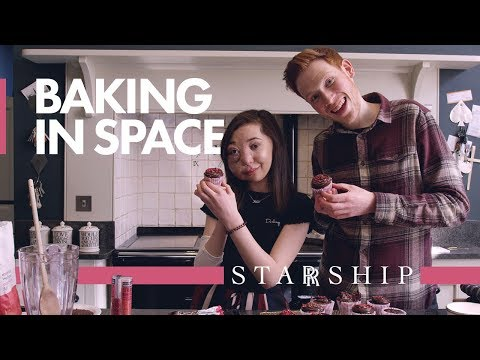 Bake Chocolate Cake for Space | Nikki Lilly, Great British Bake Off and Rolls-Royce | STARRSHIP