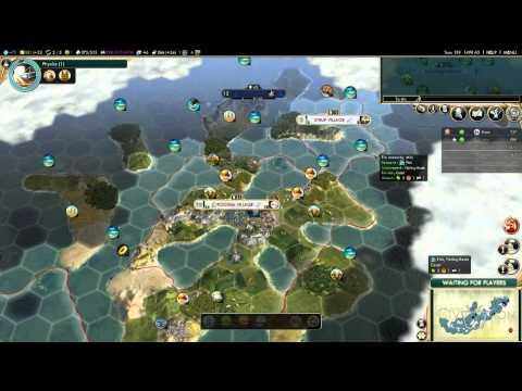 水389 Civilization V Multiplayer #3 - Episode 5 - Espionage Escapades