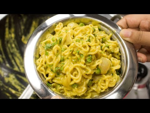 Cheese Maggi Recipe | How to make Quick & Easy Street Style Masala Cheesy Maggi Recipes