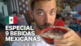 9 BEBIDAS 100% MEXICANAS | TEQUILA, MEZCAL, TEJATE...