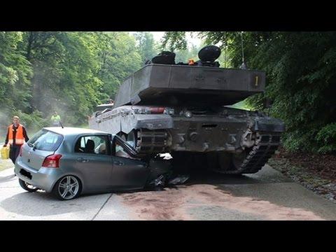 Аварии танков. Подборка дтп танков и военной техники. Tanks crash. Accident.Unfall tanks.