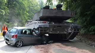 Аварии танков. Подборка дтп танков и военной техники. Tanks crash. Accident.Unfall tanks.(, 2016-05-07T11:46:42.000Z)