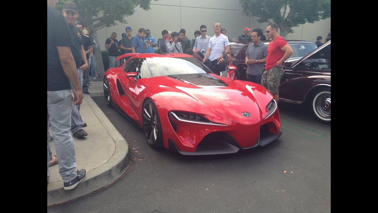 cars and coffee irvine 14 june 2014 toyota ft1 toyota