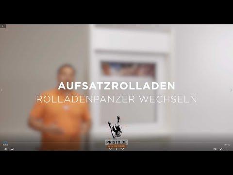 Aufsatzrolladen Montageanleitung | Tutorial Motiv-Rollladen einbauen |  bedruckte Rolladen PRISTO.DE