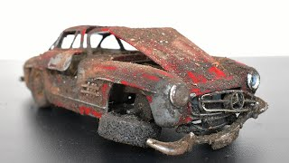 Restoration Abandoned Toy Car - Mercedes - Benz 300SL