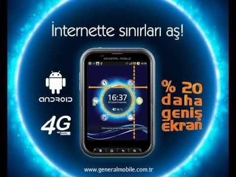 General Mobile Planet'le İnternette Sınırları Aş!
