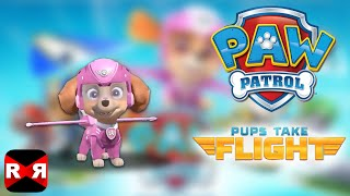 PAW Patrol Pups Take Flight - Skye in Snowy Mountain - iOS / Android - Gameplay Video