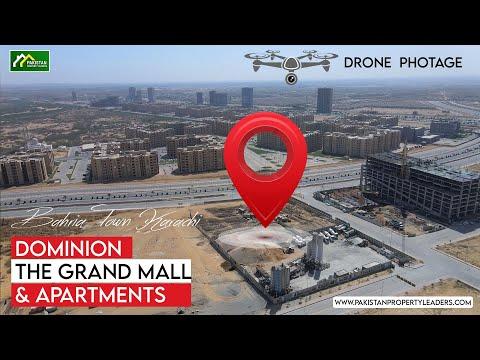 Dominion The Grand Mall & Apartments Bahira Town Karachi