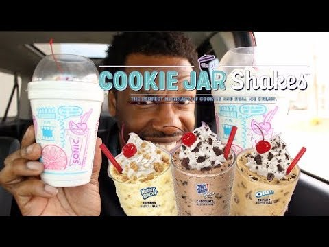 @Sonic New Nutter Butter & Chips Ahoy Shakes