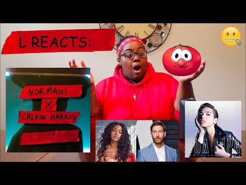 NORMANI X CALVIN HARRIS - CHECKLIST & SLOW DOWN, DUA LIPA X BLACKPINK - KISS AND MAKE UP | REACTION