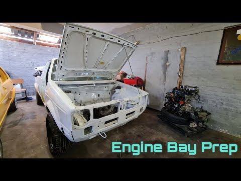 Preparation: Cleaning & Assembling Engine Bay Components