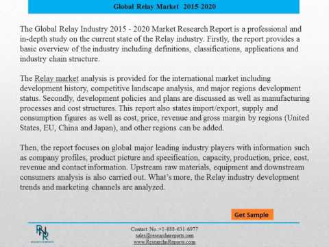 Outlook of Global Relay Market: Research Report from 2015 to 2020 ...