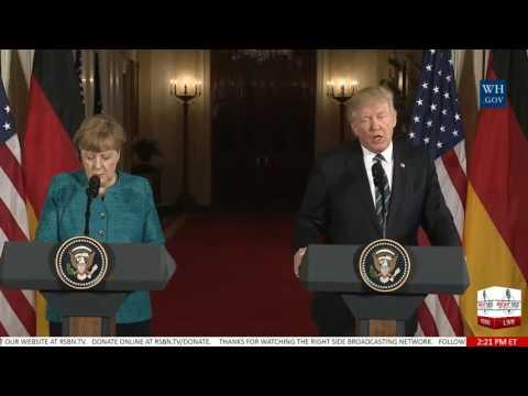 FULL Press Conference: President Trump/ German Chancellor Merkel 3/17/17