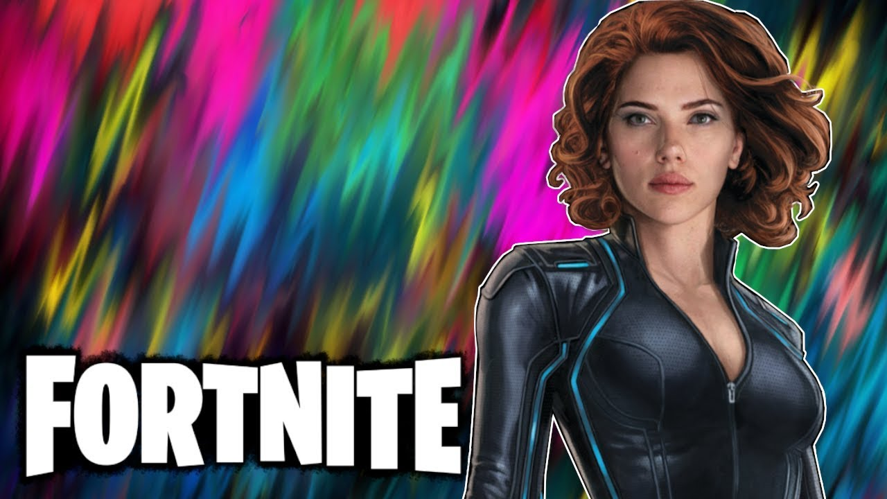 Blessed With Marvel Powers Fortnite Battle Royale Funny Moments Black Widow
