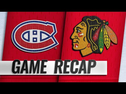 Canadiens edge Blackhawks on Tatar's late goal