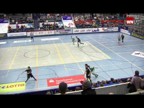 GW Gelmer - Telekom Post SV Stadtmeisterschaften Hallenfußball Münster 2012 WN-TV