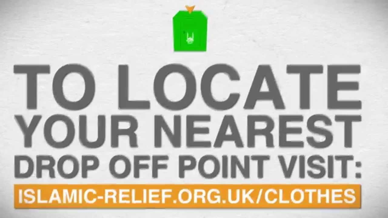 Charity Clothes Collection Donation Islamic Relief Uk