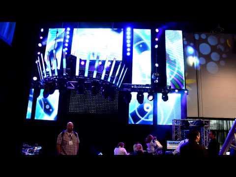ArKaos MediaMaster with Chauvet at Infocomm 2012