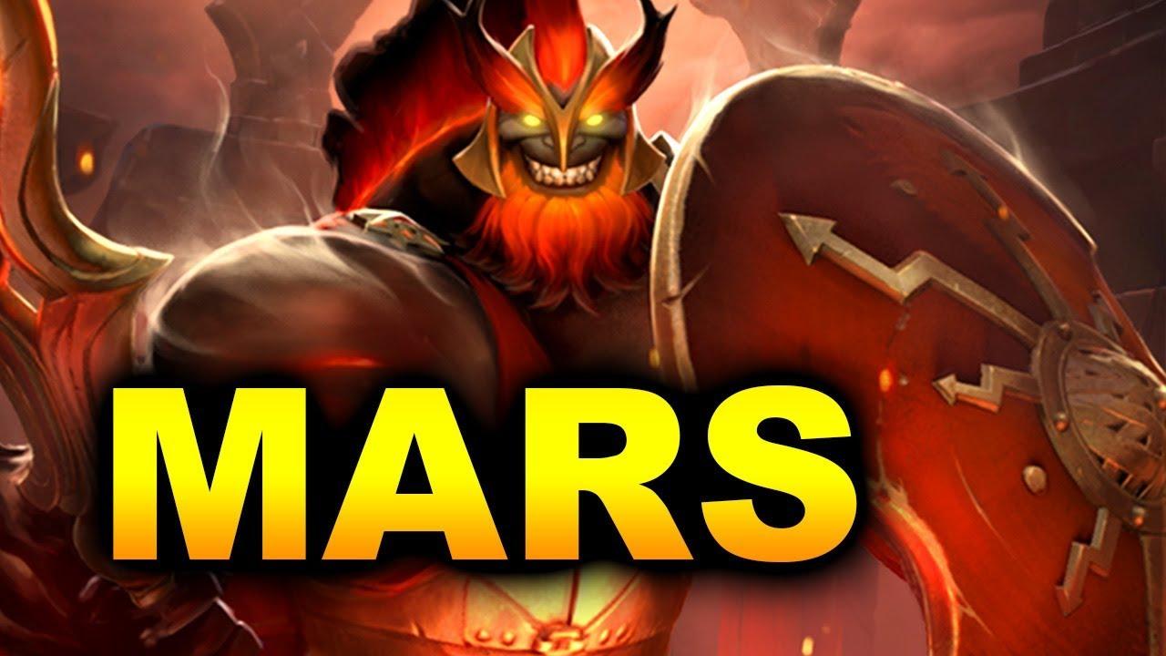 Kết quả hình ảnh cho Mars dota 2