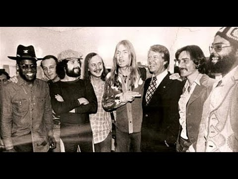 The Allman Brothers Band, Jimmy Carter Benefit Concert, Civic Center, Providence, RI, 11-25-75